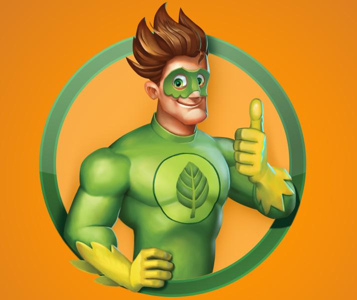 Grüner Held