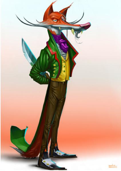 Fuchs-Character