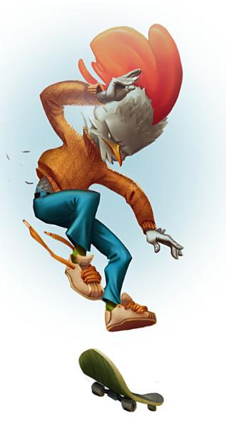 Hanh-Skater-Character