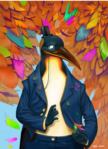 Pinguin-Character