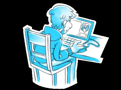 Illustration zum Thema Online-Werbung