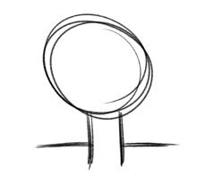 Baum Zeichnung 002