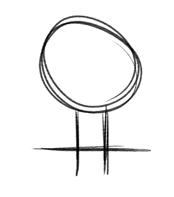 Baum Zeichnung 001