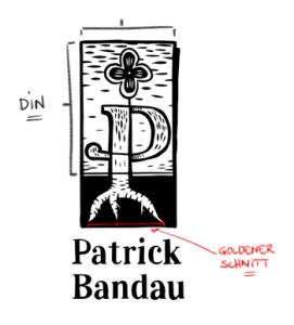 Logo goldener Schnitt