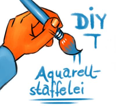 "Aquarellstaffelei selber ""bauen"""
