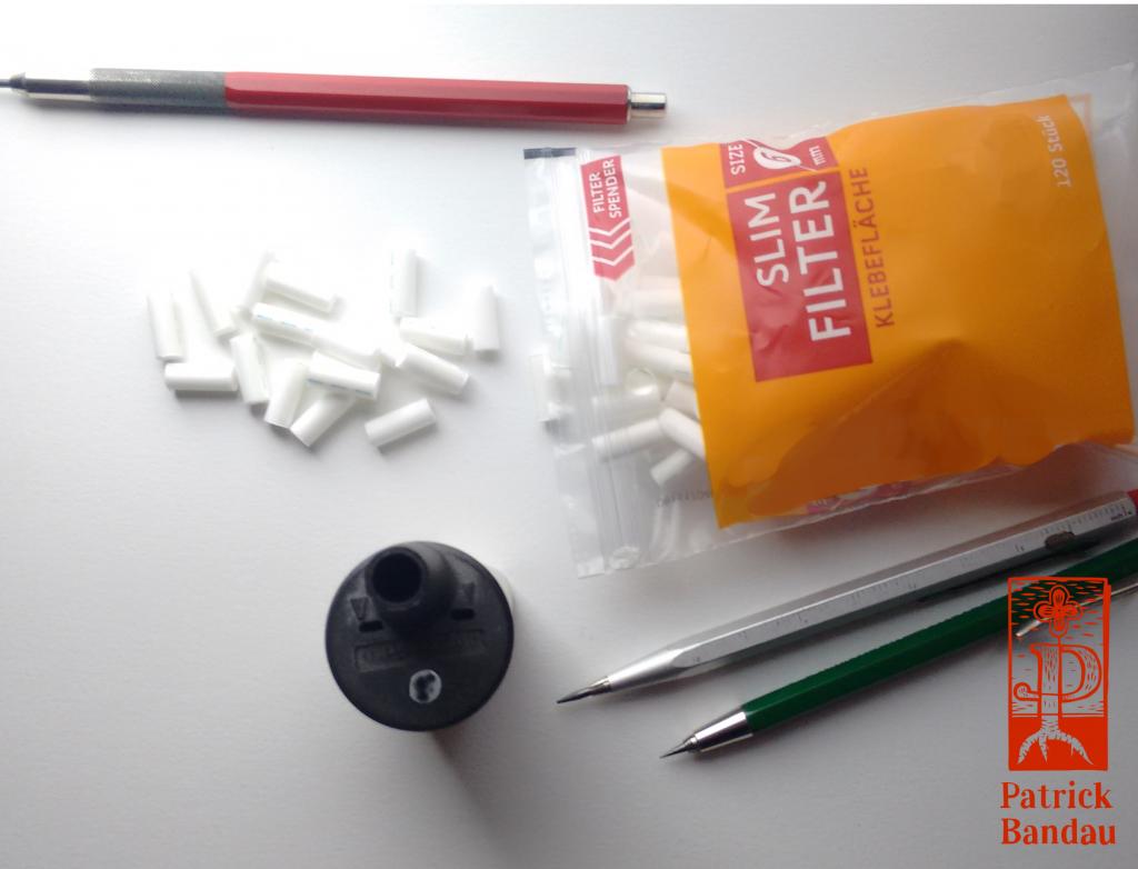 Slim Filter für den Rotations Anspitzer