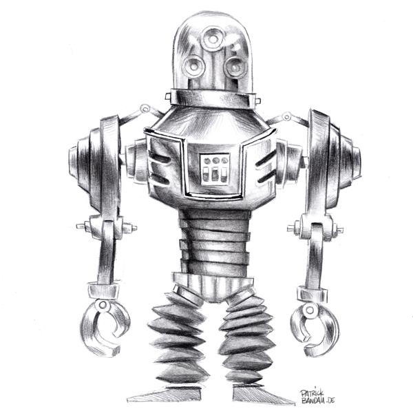 Roboter Robot conceptart