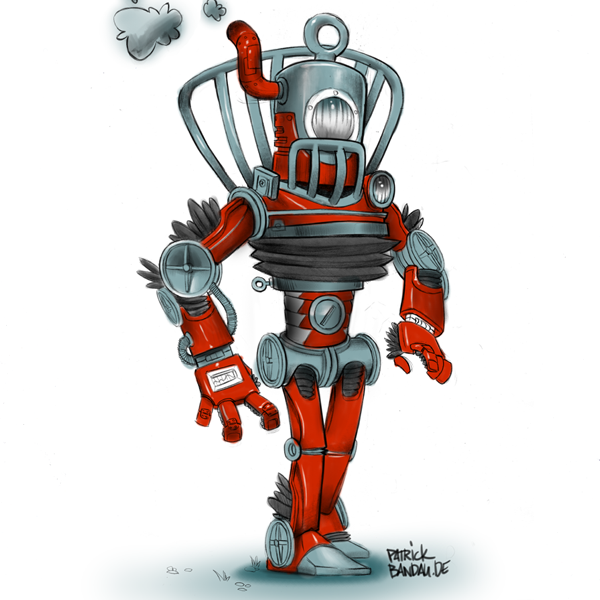 Roboter Design Illustration Art